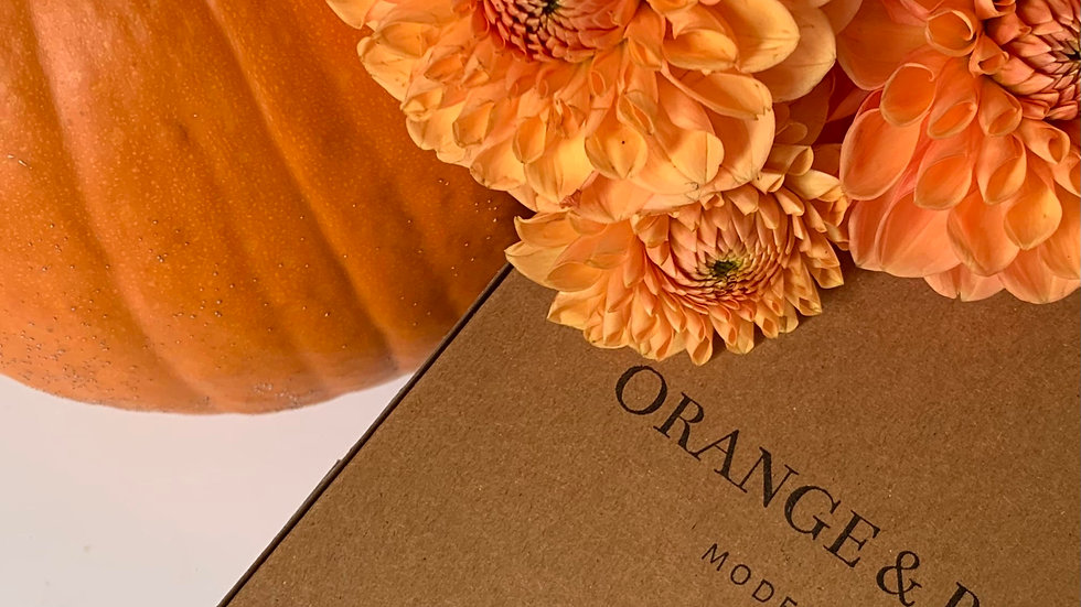 Fall Blossom Box Subscription -3 monthly pastry shares