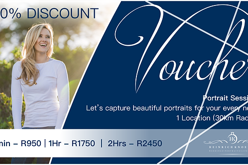 Portrait Session Voucher