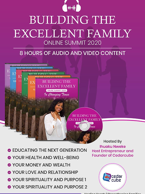 Building the Excellent Family 2020 Video downloads