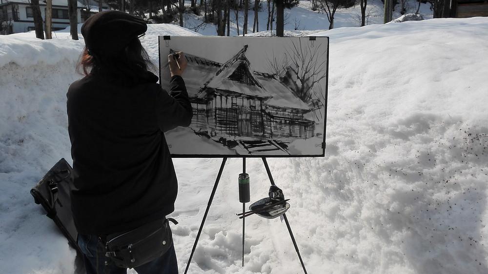 Hayatsu Tsuyoshi Snow Country