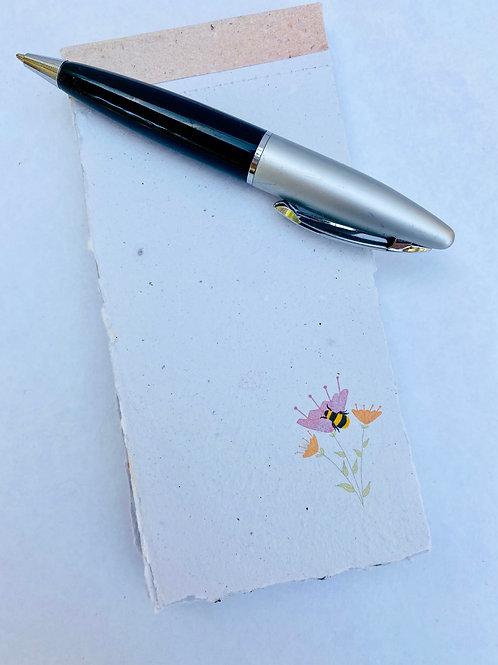 Plantable Notepad