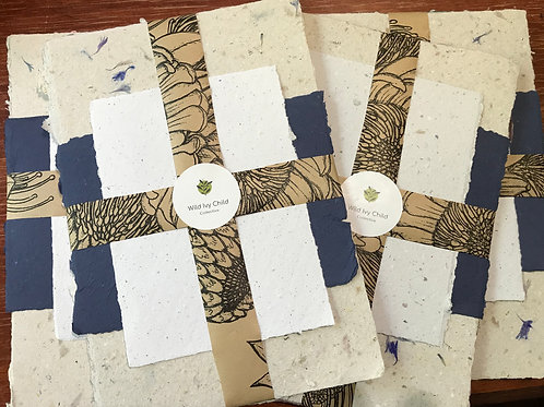 Handmade paper and card bundle