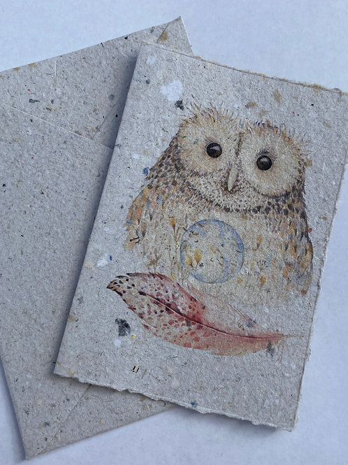 Owl & Feather Gift Card Bundle