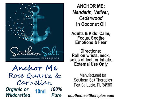 Anchor Me Gemstone Rollon SS