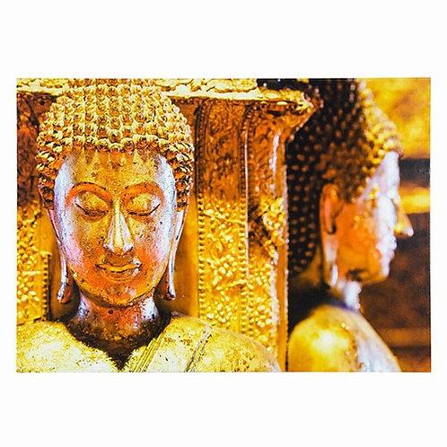 Gilded Buddha Wall Canvas