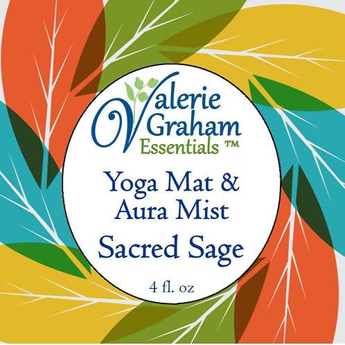 Sacred Sage Yoga Mat & Aura Mist