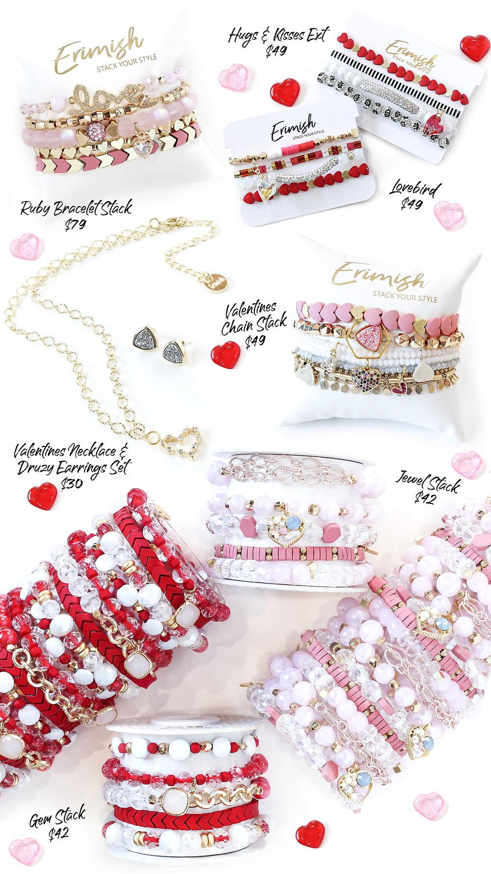 erimish stackable bracelets