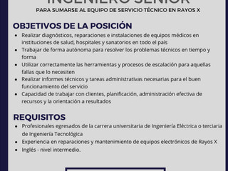 The Mare Group busca Ingeniero Senior