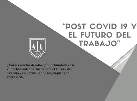 """Charla: """"POST COVID 19 y El Futuro del Trabajo"""""""
