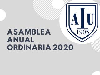 Asamblea general ordinaria 2020