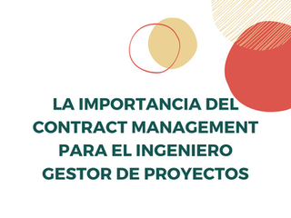 "Charla: ""La importancia del contract management"""