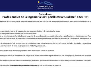 Ingeniero/a Civil opción Estructural