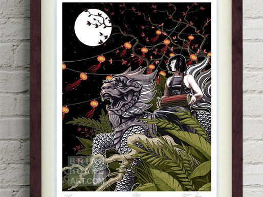 Pre-Orders for Mythical Vietnam foil prints