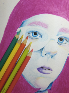 ART: INTRODUCING: ALEX IS A KINDRED SPIRIT WITH A NATURAL FLARE FOR DRAWING
