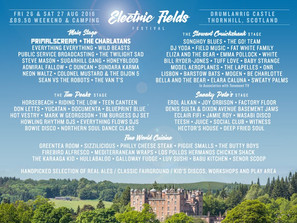 MUSIC: NEWS: 4 MORE ACTS ADDED TO ELECTRIC FIELDS LINEUP