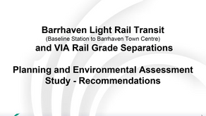 November 2nd - BRT Study Recommendations