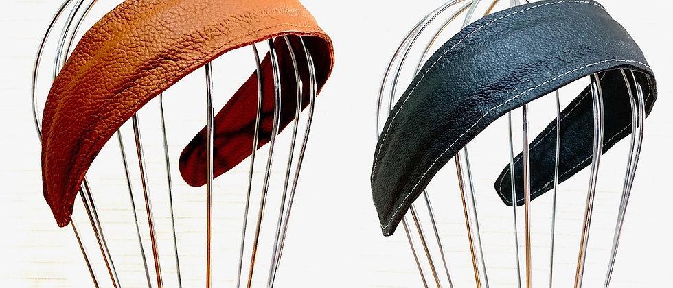 Leather headbands