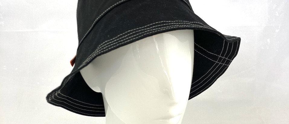 Film Noir Black bucket hat