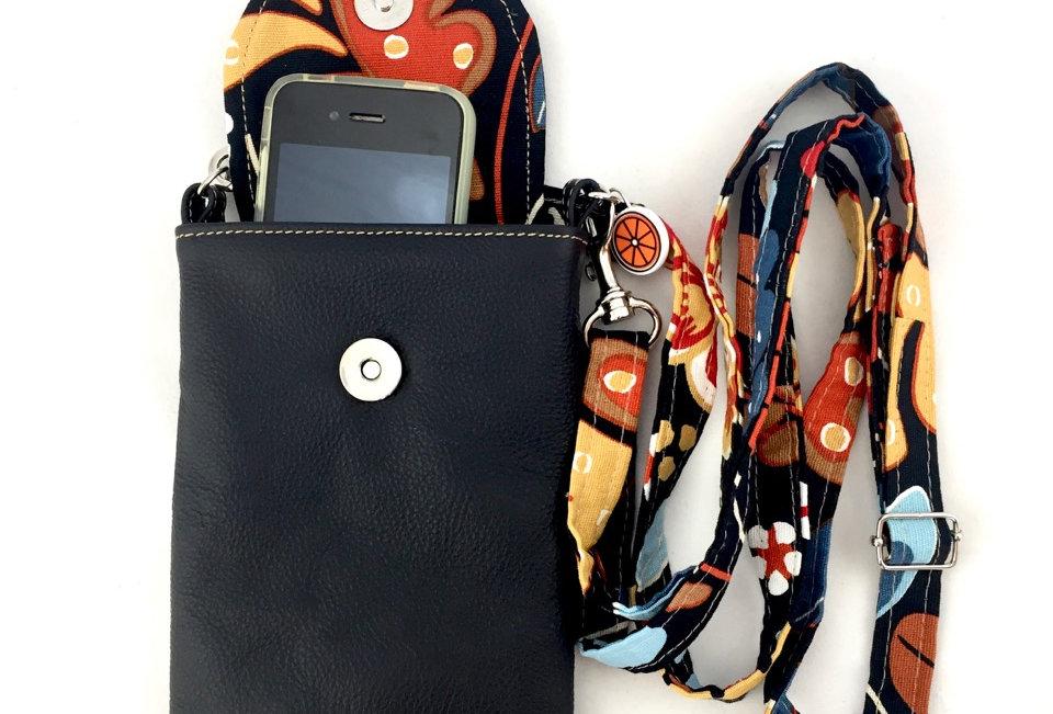 Black Enchanted phone case