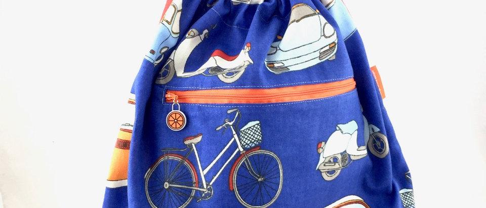 Hand Made Retro Swag Bag