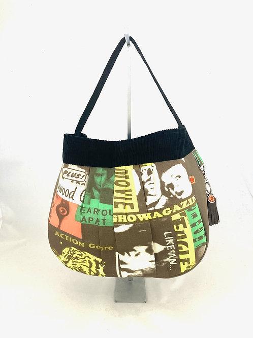 Film Noir hobo bag