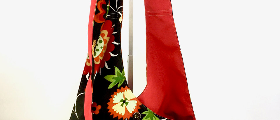 Reversible Colourful Retro Boho Bag