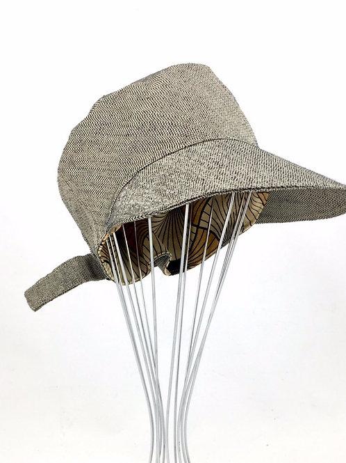 Tweed glitter newsboy cap travel hat
