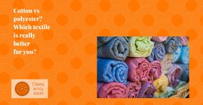 Cotton vs polyester