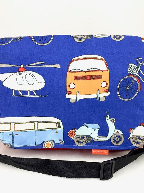 Colourful Retro Messenger Bag Boho Style