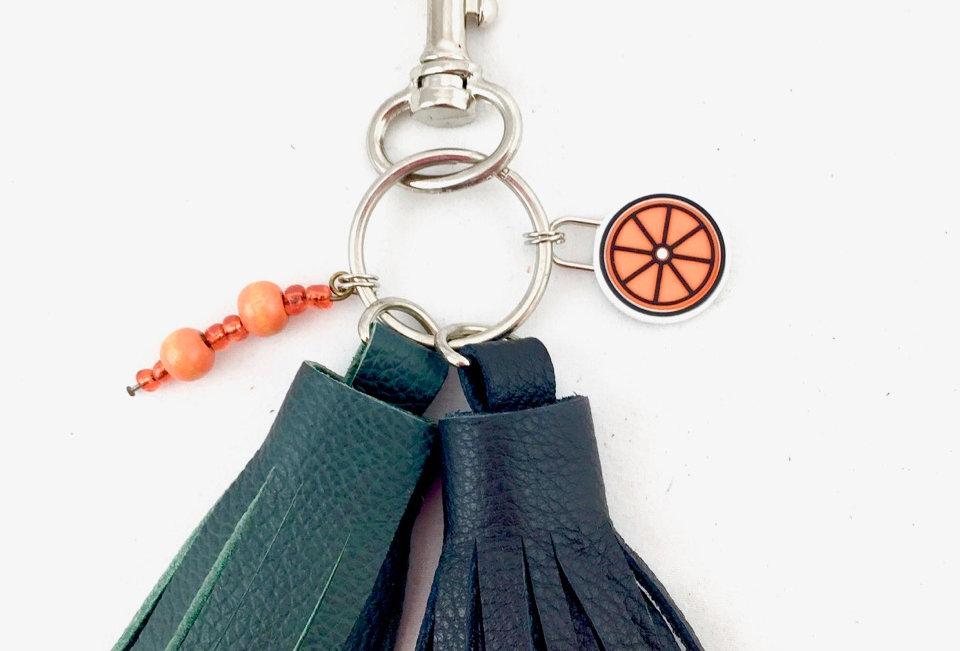 Boho Handmade Tassel Keyring