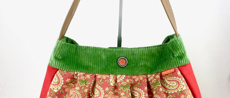 Retro Hobo Bag with Purse Boho