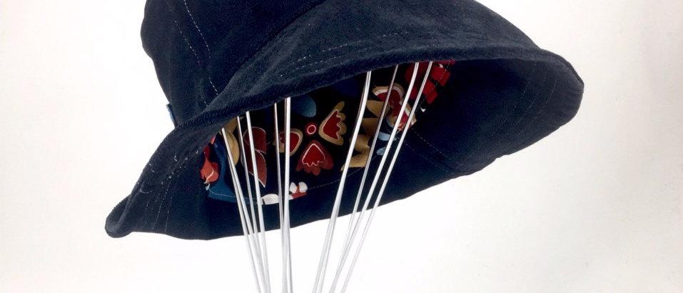 Black Enchanted bucket hat