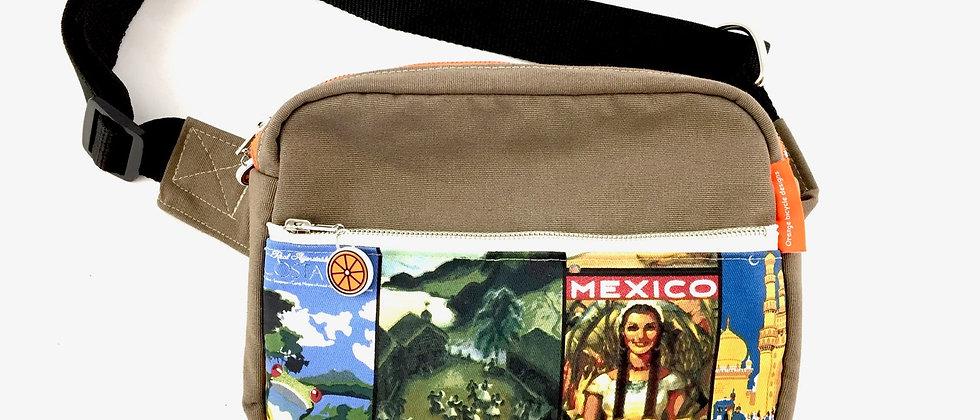 Vintage print bumbag bum bag fanny pack