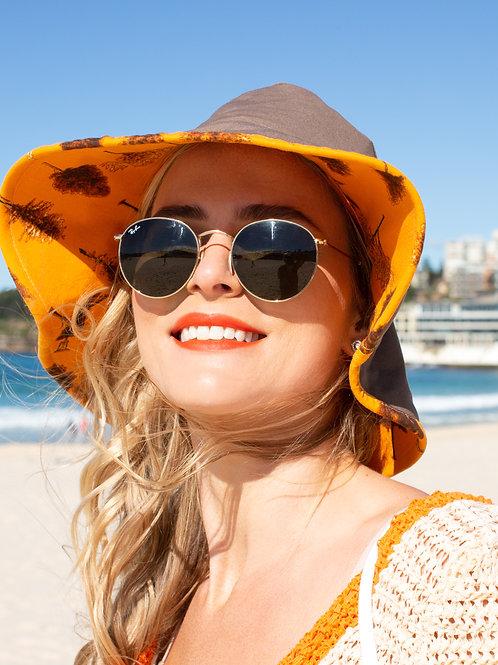 Floppy Wide Brim sun hat custom made