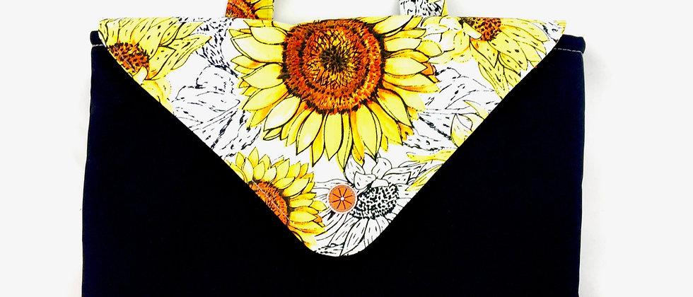 Retro Colourful flower Laptop Case