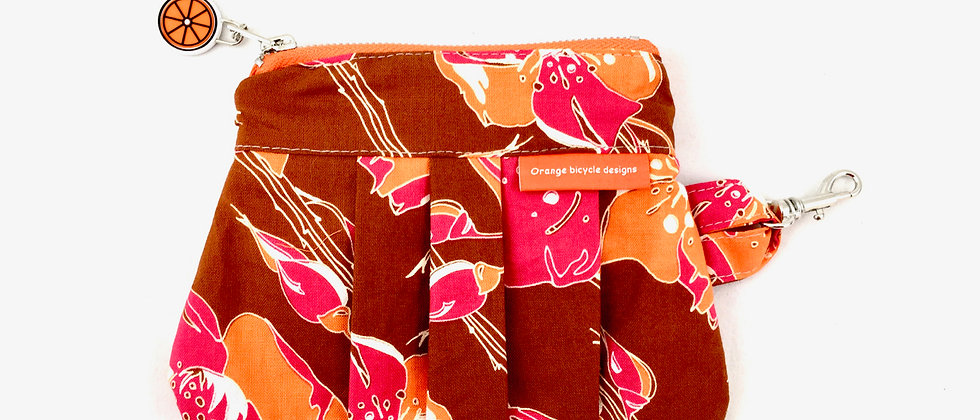 Colourful Retro Hand Made Purse