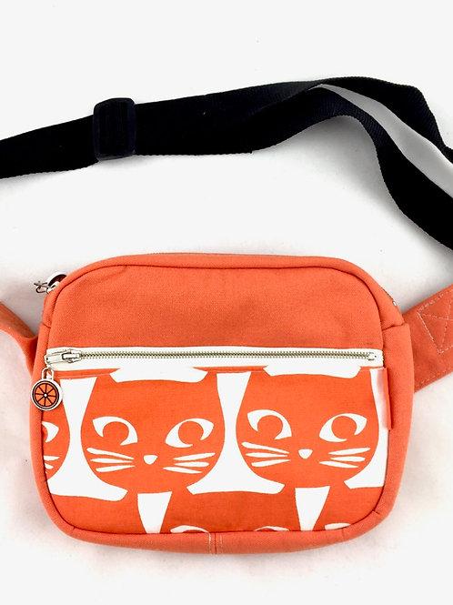Orange bum bag bumbag fanny pack