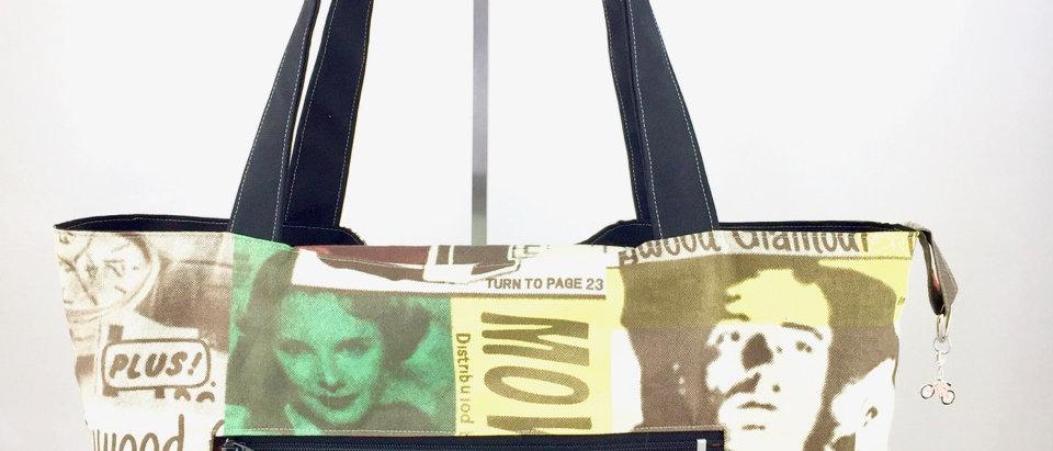 Boho Retro Reversible Tote Bag