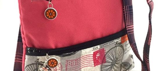 Penny Farthing Shoulder Bag