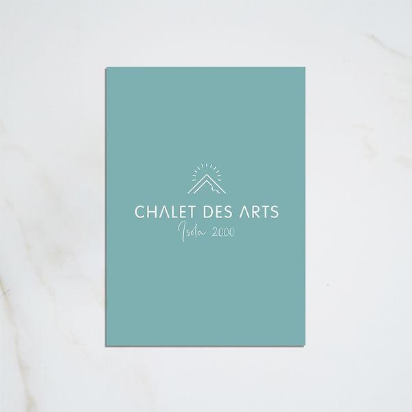 Logo chalet des arts