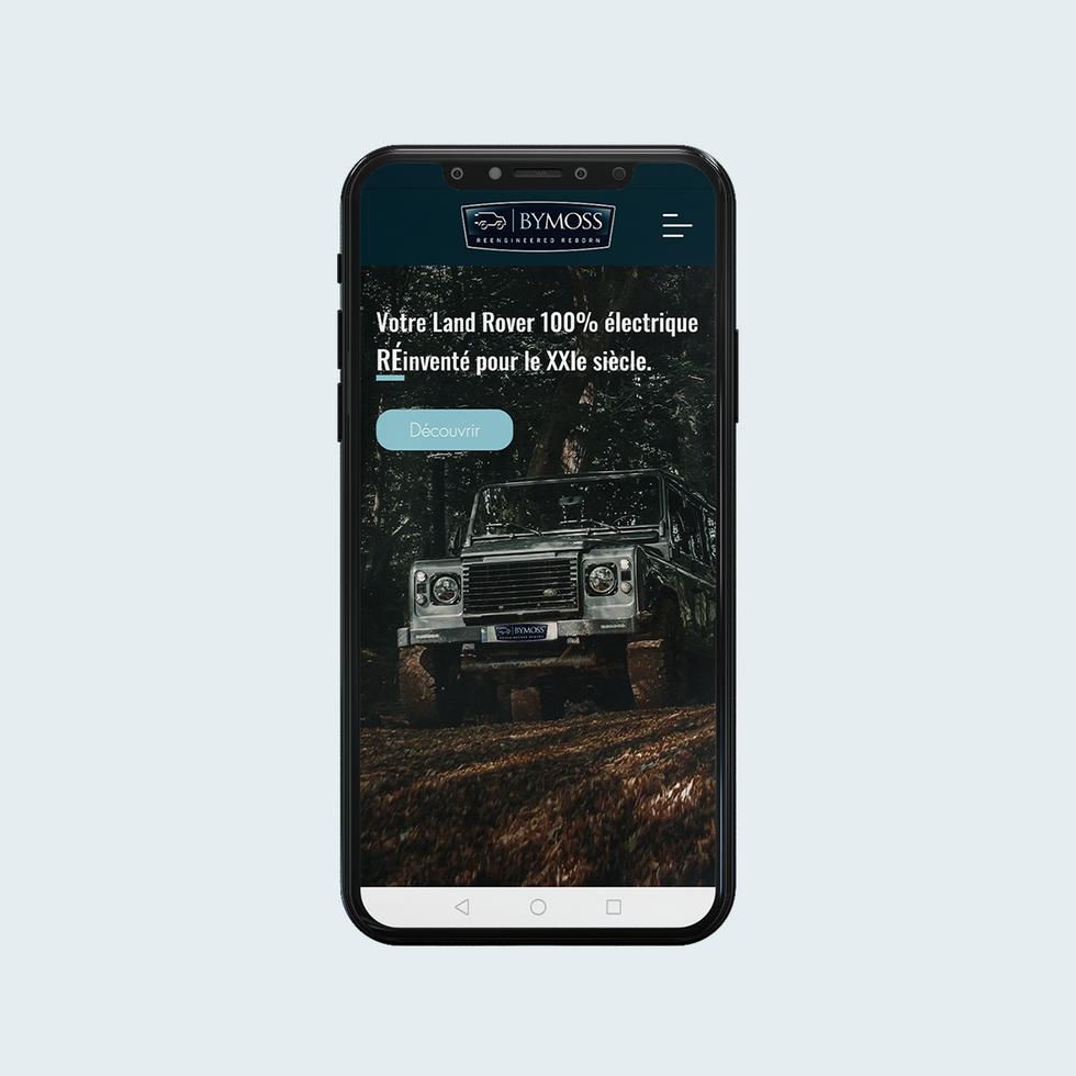 BYMOSS - Land Rover électriques