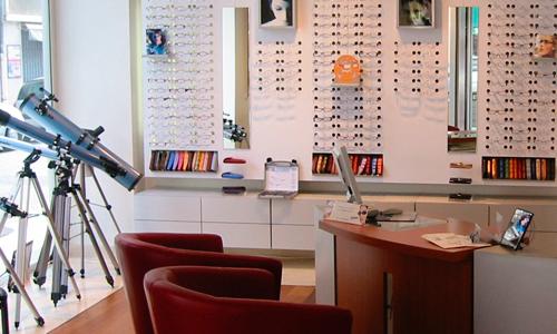Création boutique d'opticien