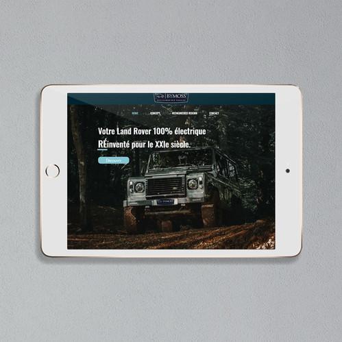 BYMOSS - Land Rover avec motorisation électrique