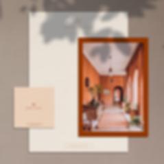Identité visuelle archiecture d'intérieur