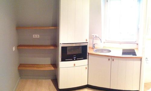 Studio de 10 m² optimisés