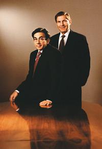 Howard Brodsky and Alan Greenberg