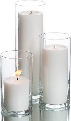 Hurricane Pillar Candles