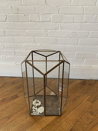 Glass Brass Lanterns