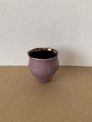 Ceramic Purple Cup