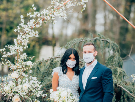 Deepika + Mike - Backyard Elopement